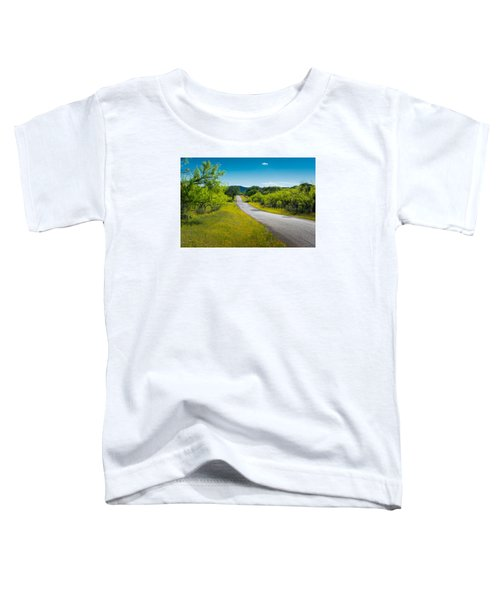 Texas Hill Country Road Toddler T-Shirt