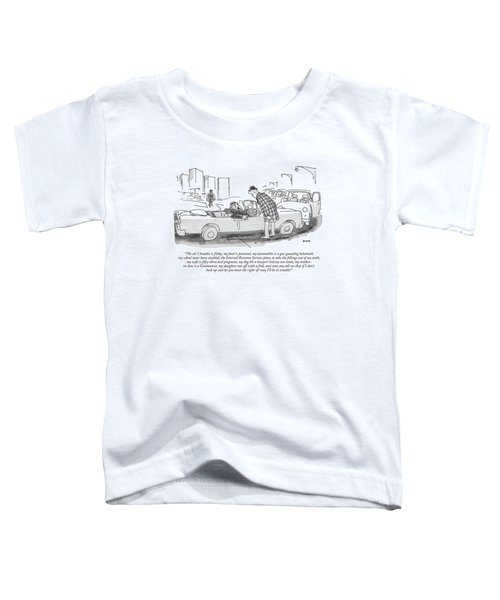The Air I Breathe Is Filthy Toddler T-Shirt