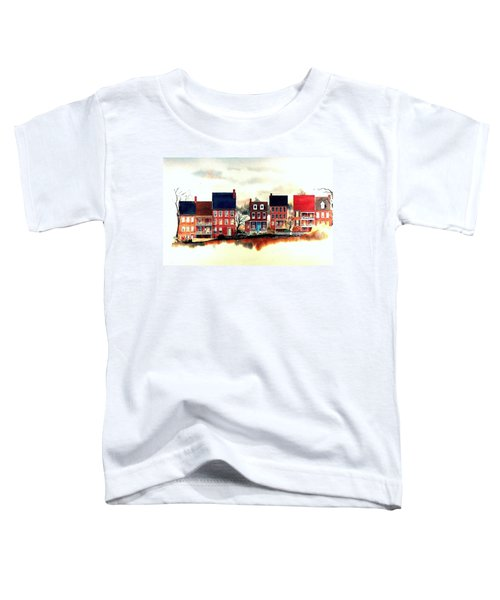 The Back Of The Strand Toddler T-Shirt