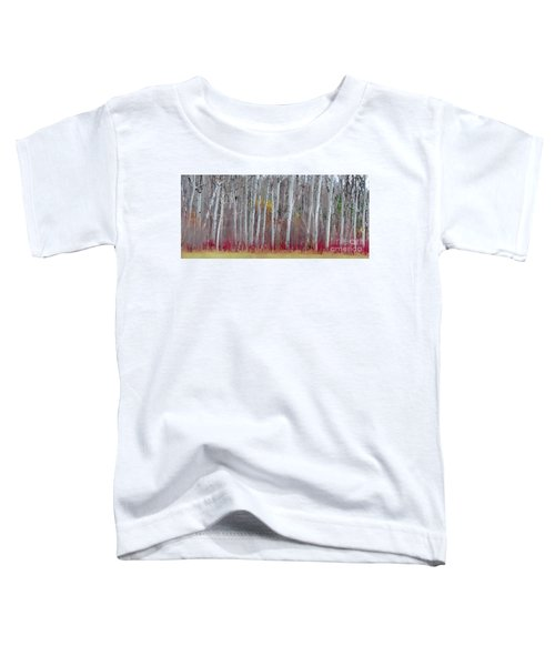 The Birches Panorama  Toddler T-Shirt
