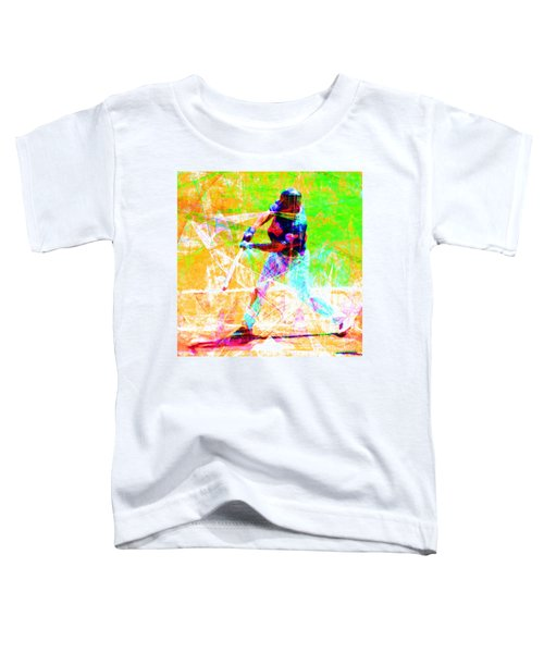 The Boys Of Summer 5d28228 The Batter Square Toddler T-Shirt