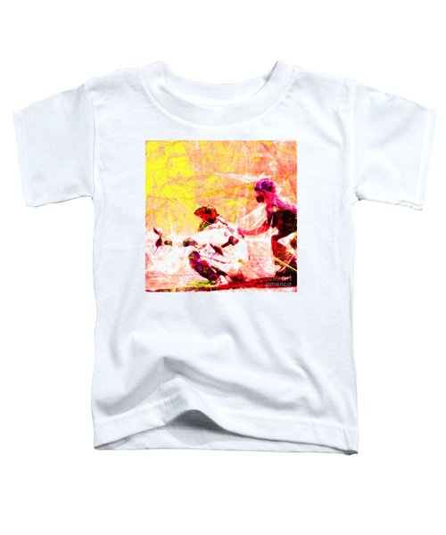 The Boys Of Summer 5d28228 The Catcher Square V2 Toddler T-Shirt