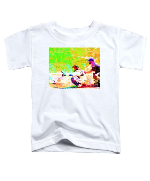 The Boys Of Summer 5d28228 The Catcher Toddler T-Shirt