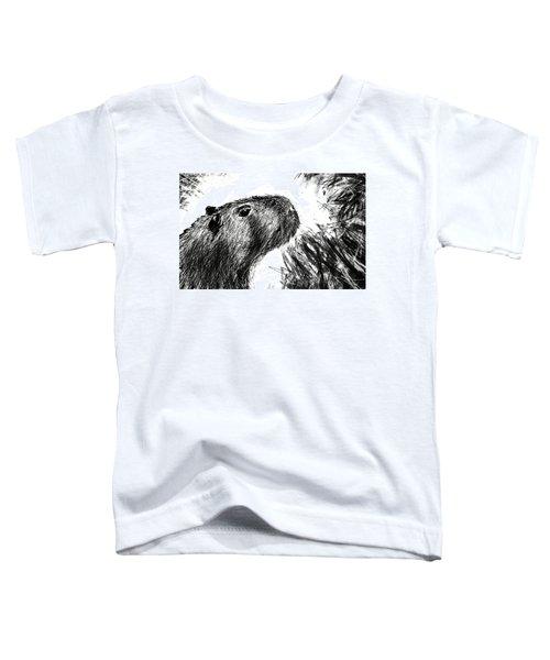 The Capybara  Toddler T-Shirt