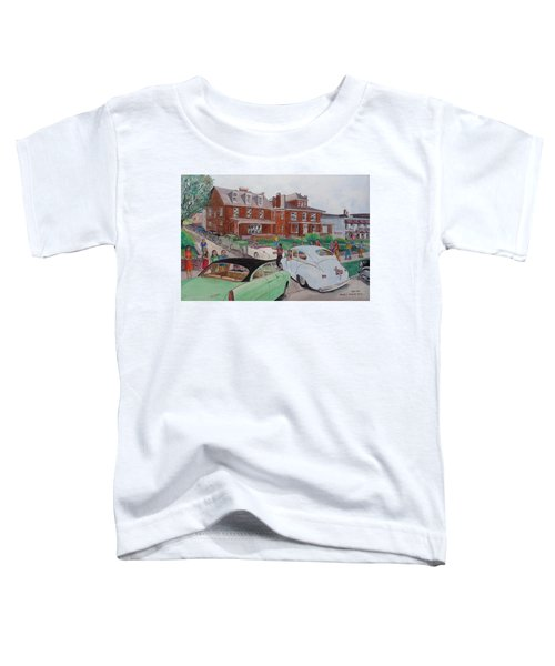 The Car Movers Of Phi Sigma Kappa Osu 43 E. 15th Ave Toddler T-Shirt