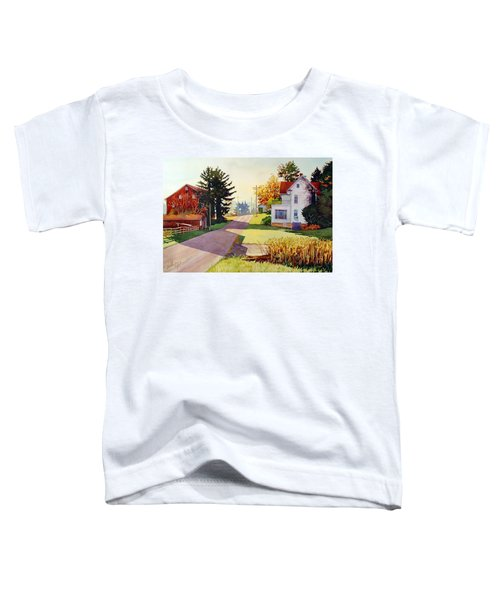 The Country Road Toddler T-Shirt