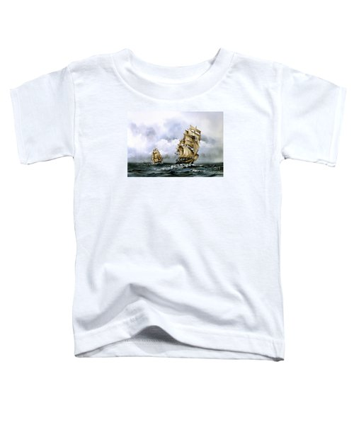 The Cutty Sark And The Red Clipper Toddler T-Shirt