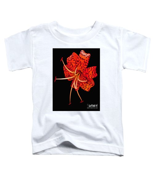 The Dance Of The Tiger Lily  Toddler T-Shirt