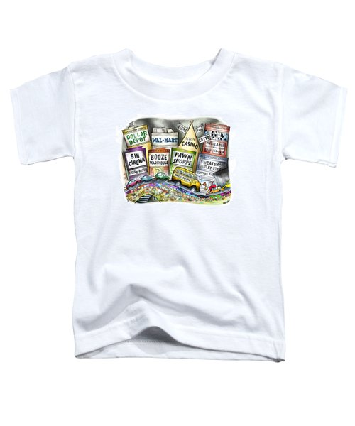The Delights Of Modern Civilization Toddler T-Shirt