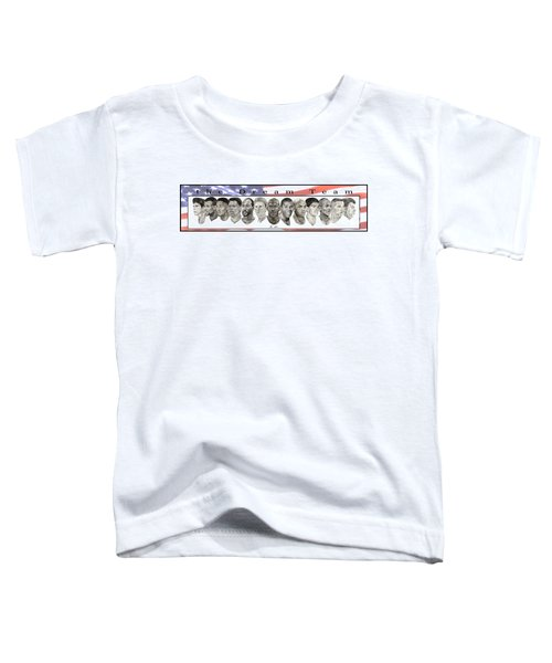 the Dream Team Toddler T-Shirt by Tamir Barkan