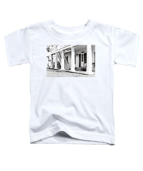 The Front Porch - Bw Toddler T-Shirt