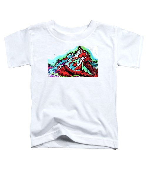 The Grand From Jackson Lake Toddler T-Shirt