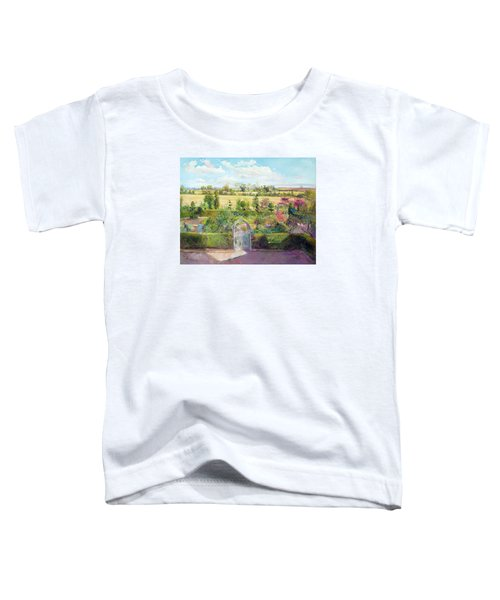 The Herb Garden After The Harvest Toddler T-Shirt