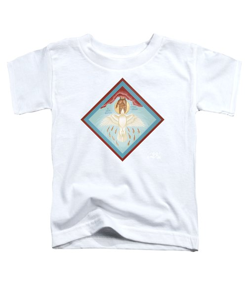 The Holy Spirit The Lord The Giver Of Life The Paraclete Sender Of Peace 093 Toddler T-Shirt