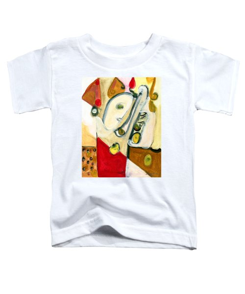 The Horn Player Toddler T-Shirt