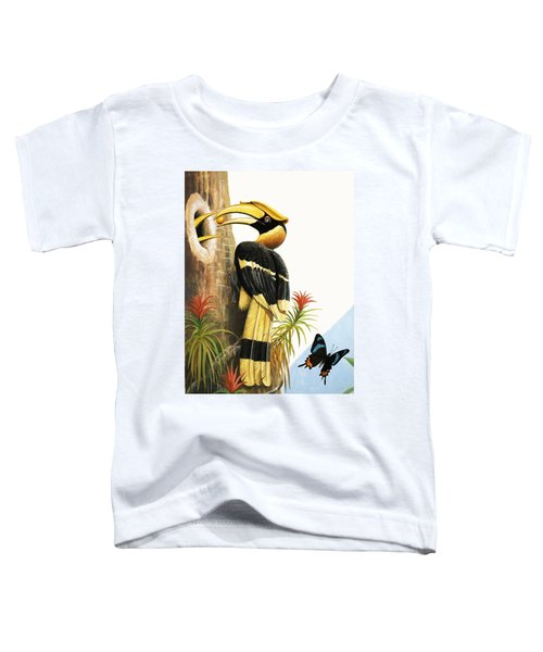 The Hornbill Toddler T-Shirt by R.B. Davis