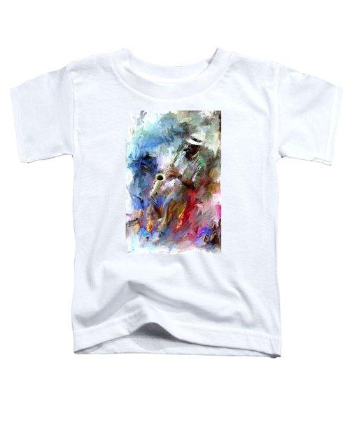 The Jazz Player Toddler T-Shirt