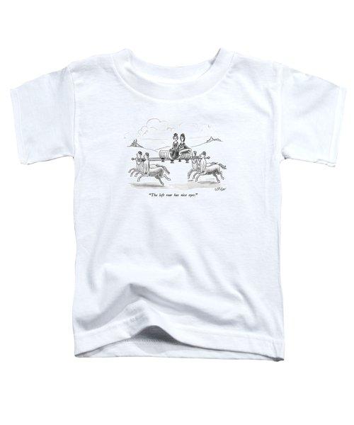 The Left Rear Has Nice Eyes Toddler T-Shirt by Warren Miller