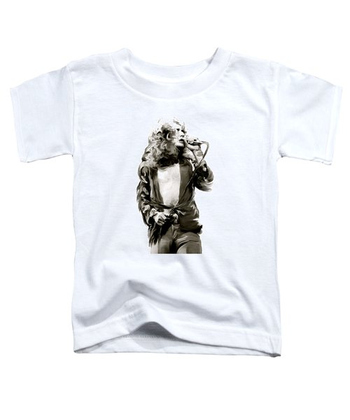 The Lion  Robert Plant Toddler T-Shirt by Iconic Images Art Gallery David Pucciarelli