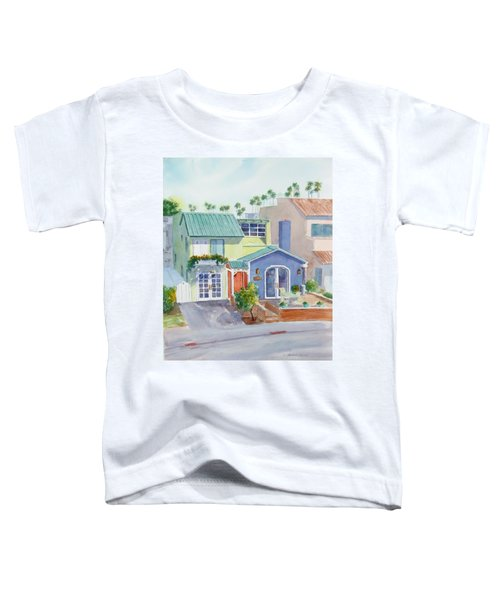 The Most Colorful Home In Belmont Shore Toddler T-Shirt