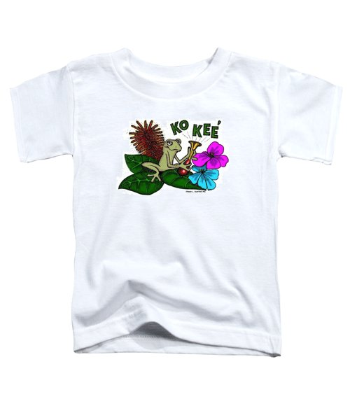 The Night Sound Of Puerto Rico Toddler T-Shirt