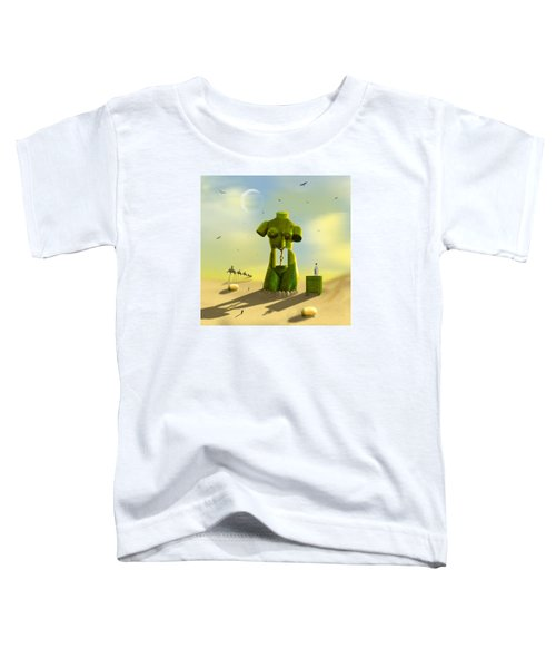 The Nightstand Toddler T-Shirt by Mike McGlothlen
