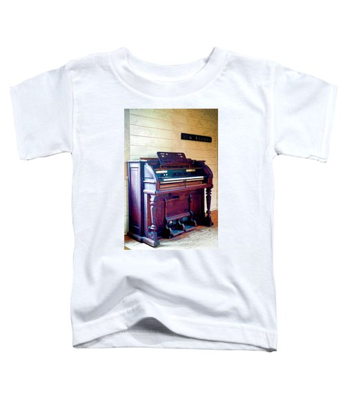 The Piano Toddler T-Shirt