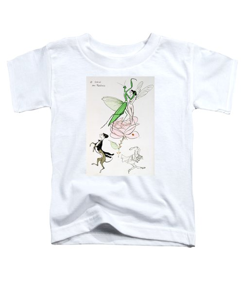The Poets Corner Toddler T-Shirt by Sem