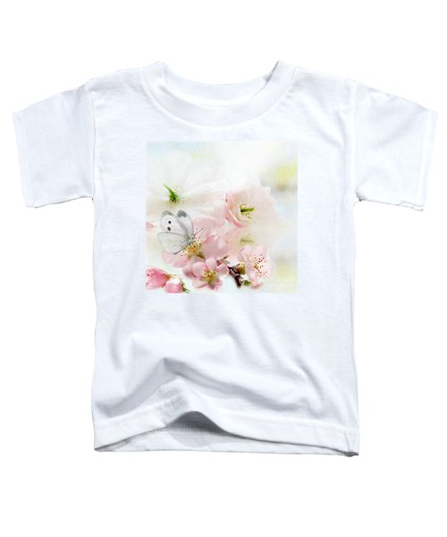 The Silent World Of A Butterfly Toddler T-Shirt