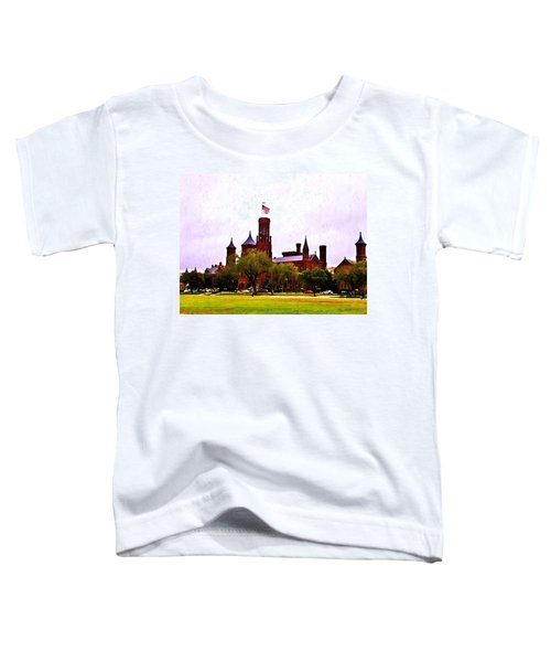 The Smithsonian Toddler T-Shirt by Bill Cannon