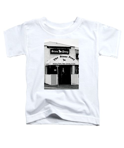 The Stone Pony Asbury Park Nj Toddler T-Shirt by Terry DeLuco