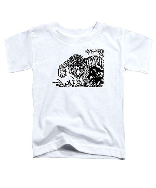 The Tiger  Toddler T-Shirt