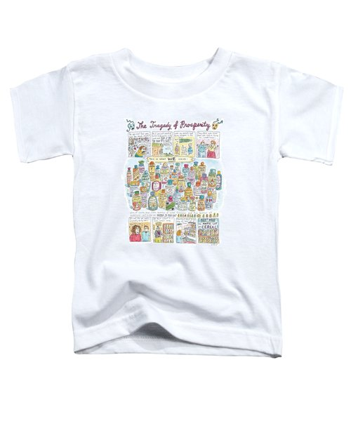 'the Tragedy Of Prosperity' Toddler T-Shirt