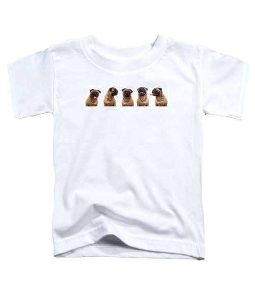 The Usual Suspects Toddler T-Shirt
