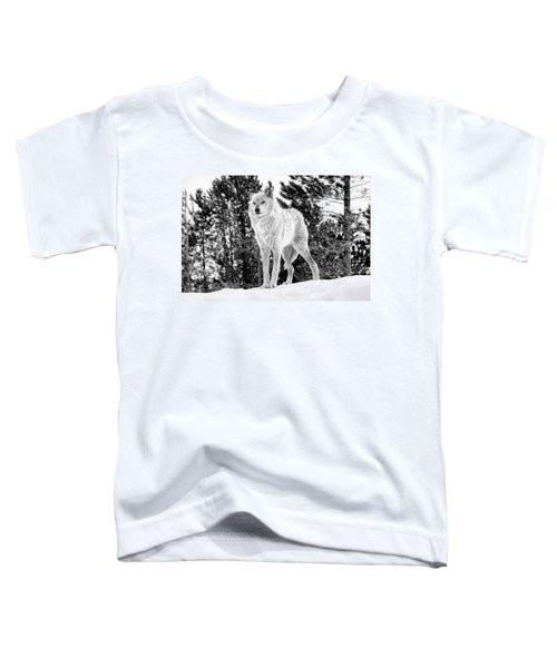 The Wolf  Toddler T-Shirt