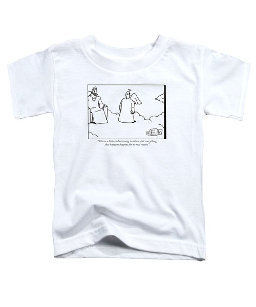 This Is A Little Embarrassing To Admit Toddler T-Shirt
