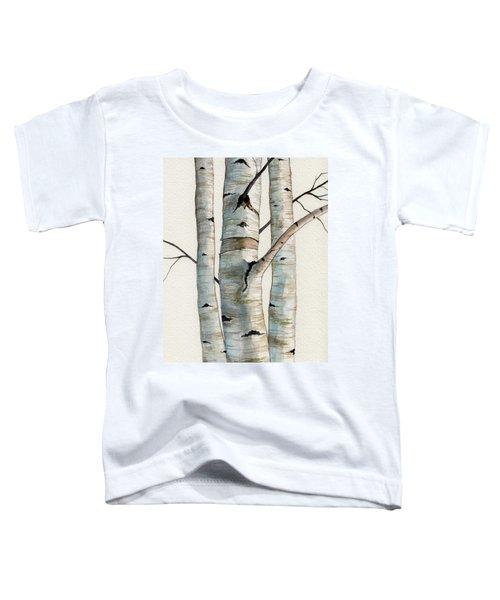 Three Birch Trees Toddler T-Shirt