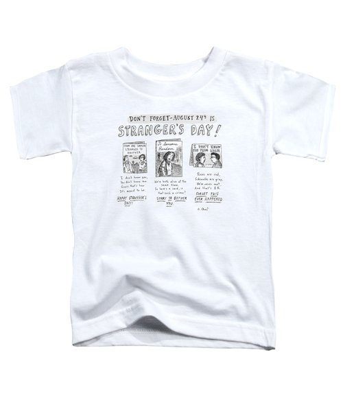 Three Greeting Cards Are Shown To Celebrate Toddler T-Shirt