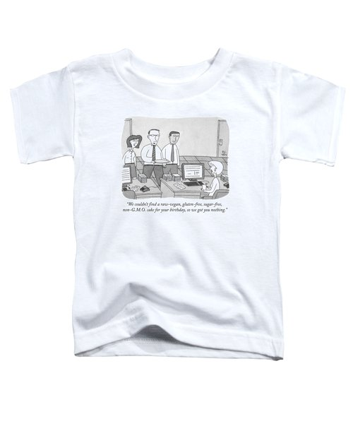 Three Office Workers Toddler T-Shirt