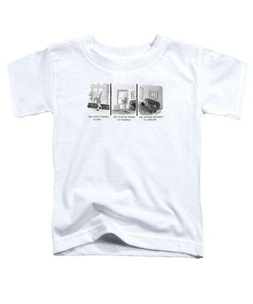Three Panels Toddler T-Shirt