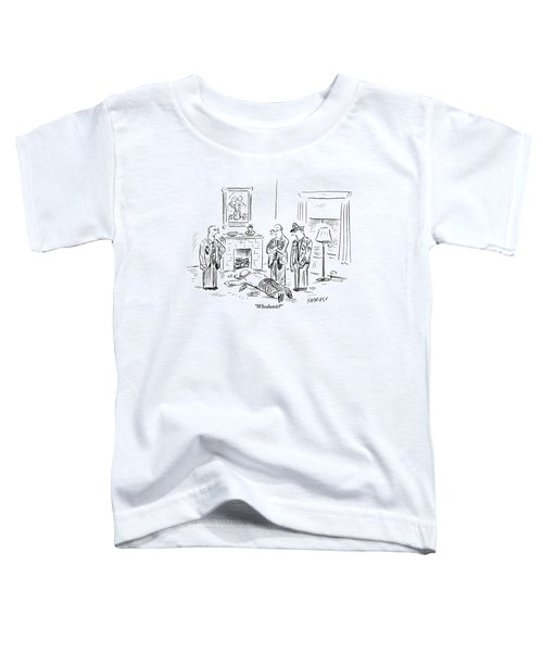 Three Policemen Are Seen Standing Around A Dead Toddler T-Shirt