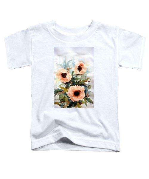Three Poppies Toddler T-Shirt