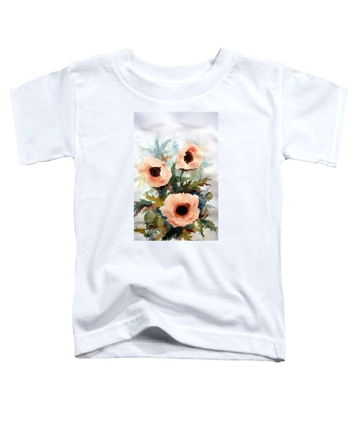 Three Poppies Toddler T-Shirt
