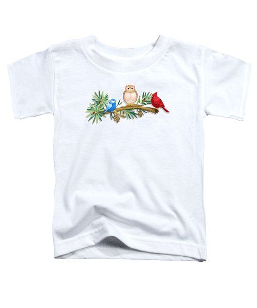 Three Watchful Friends Toddler T-Shirt