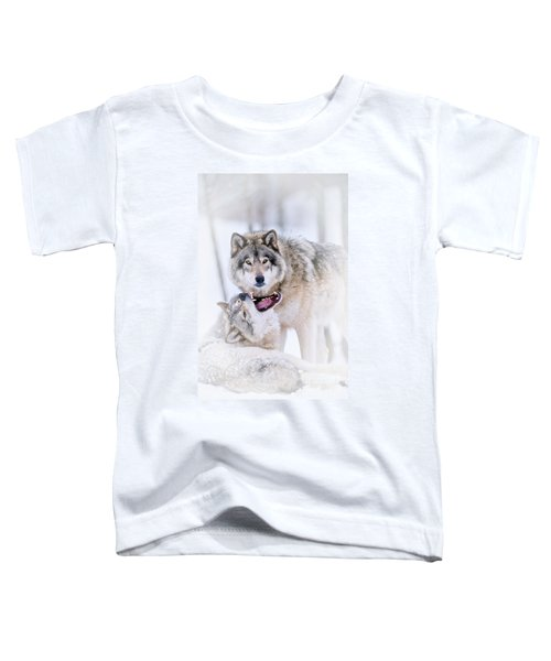 Timber Wolf Pictures 56 Toddler T-Shirt