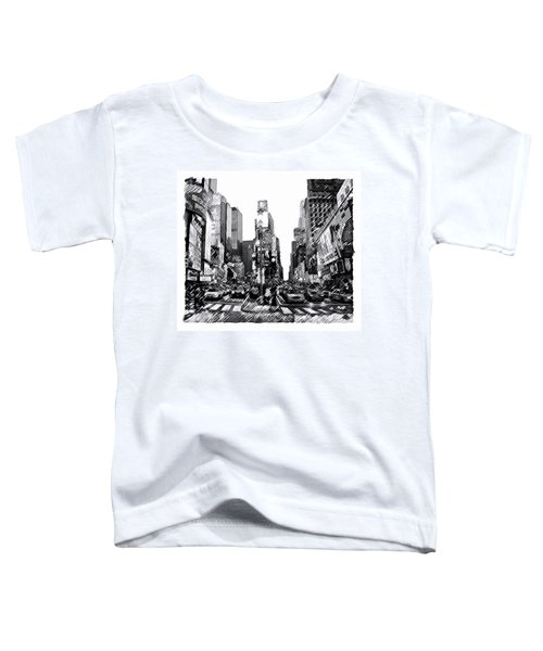 Times Square   New York City Toddler T-Shirt
