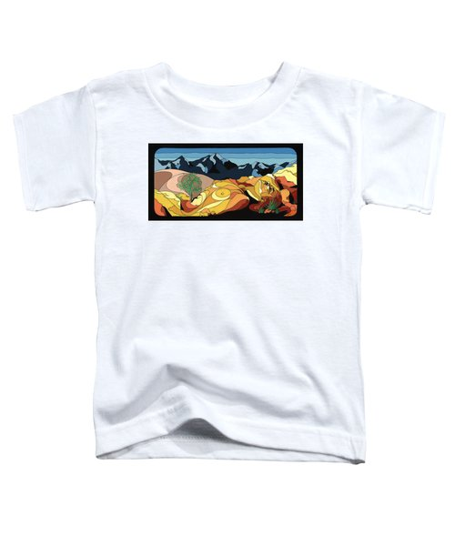 Tree Of Life Painting W/ Hidden Picture Toddler T-Shirt