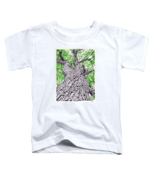 Tree Pen Drawing 4 Toddler T-Shirt