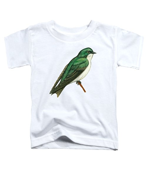 Tree Swallow  Toddler T-Shirt by Anonymous