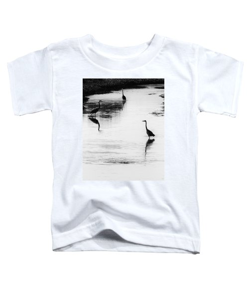 Trilogy - Black And White Toddler T-Shirt
